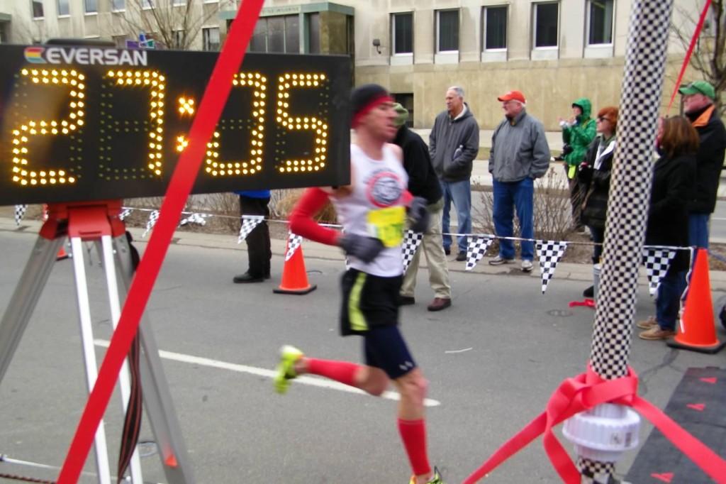 Josh chasing Kenny