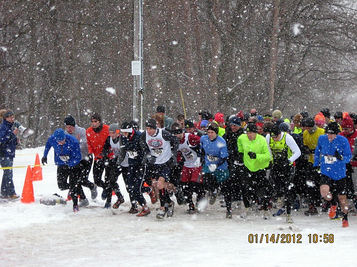 The starting line was there somewhere